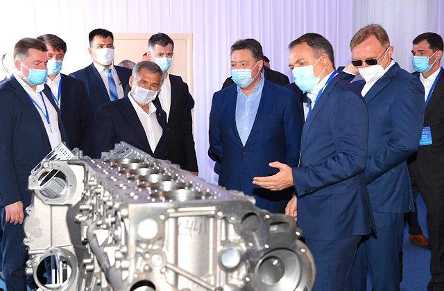 Казахстан войдёт в глобальную техноцепочку производителя грузовой техники СНГ-ПАО «Камаз»