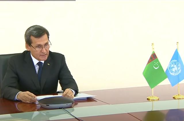 Туркменистан и ООН организовали форум по укреплению транспорта в период коронавируса