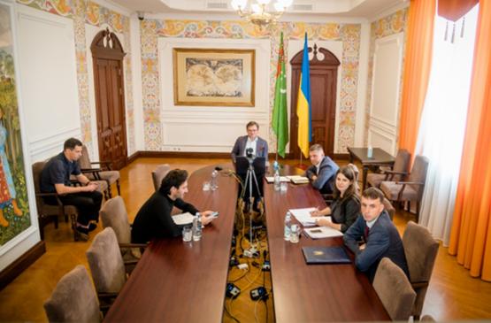 Главы МИД Туркменистана и Украины провели онлайн-переговоры