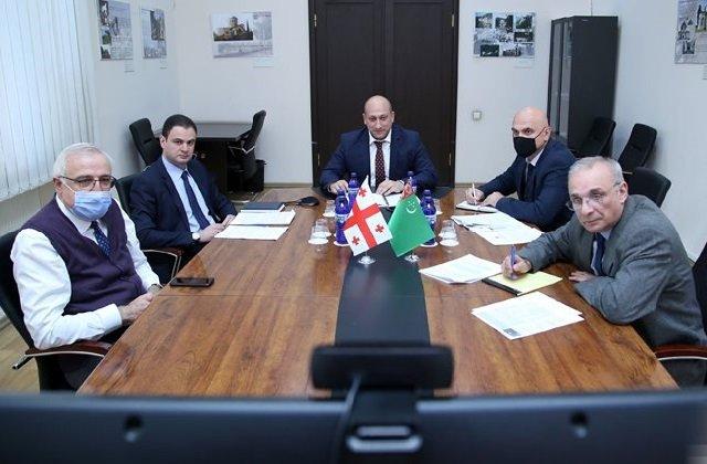 Министерства иностранных дел Туркменистана и Грузии провели политические консультации