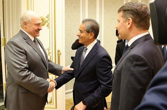 Лукашенко встретился с крупным ближневосточным инвестором