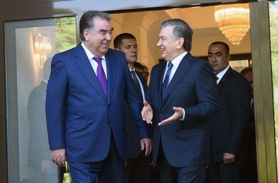 Лидеры Узбекистана и Таджикистана обсудили стратегическое партнёрство