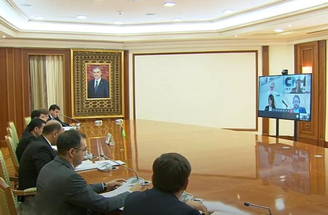 Туркменистан и американская Case New Holland обсудили сотрудничество в агротехнике