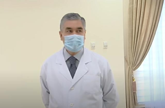 Бердымухамедов открыл новый бальнеологический курорт под Ашхабадом