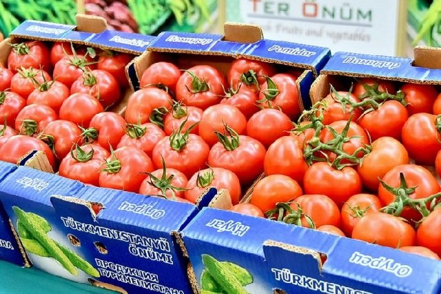 Туркменистан с начала 2020 года экспортировал около 17000 тонн томатов