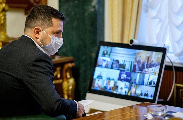 Президент Украины заразился коронавирусом