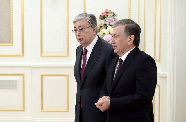 Токаев и Мирзиёев обсудили региональную повестку