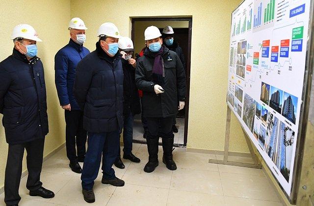 В столице Казахстана до конца года будет сдана в эксплуатацию новая очередь жилых комплексов