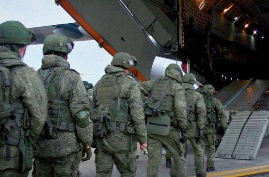 Из России в Армению прибыли миротворческие силы