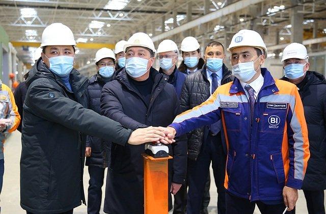 В столице Казахстана открылся новый домостроительный комбинат
