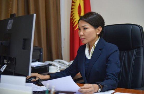 Вице-премьер Киргизии высказала жёсткую критику в отношении минздрава и местных органов власти