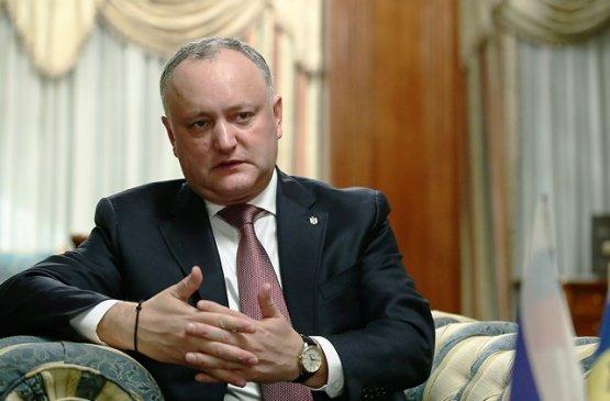 Президент Молдовы передал своё пособие по окончанию мандата многодетной семье
