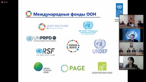 В Туркменистане прошёл вебинар по финансированию программ развития