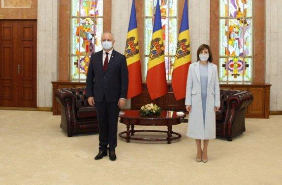 Новый лидер Молдавии приняла президентскую присягу