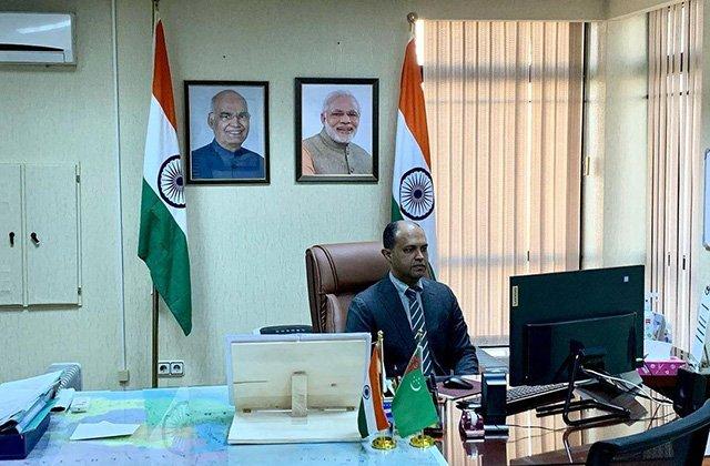 Туркменистан и Индия расширят сотрудничество в сфере образования