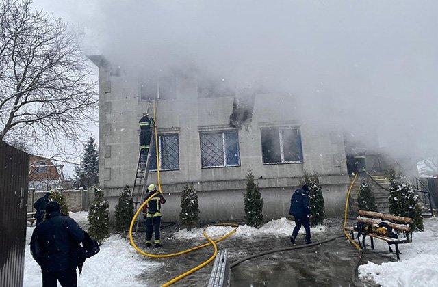 В Харькове при пожаре в доме престарелых погибли 15 человек