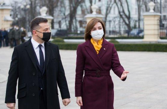 Молдавский президент подвела итоги своего визита в Украину