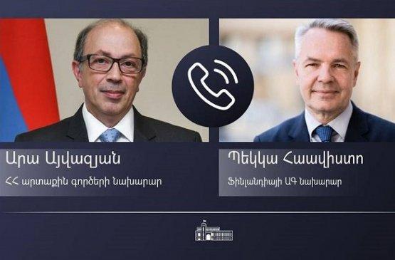 Главы МИД Армении и Финляндии отметили важность карабахского урегулирования в рамках МГ ОБСЕ