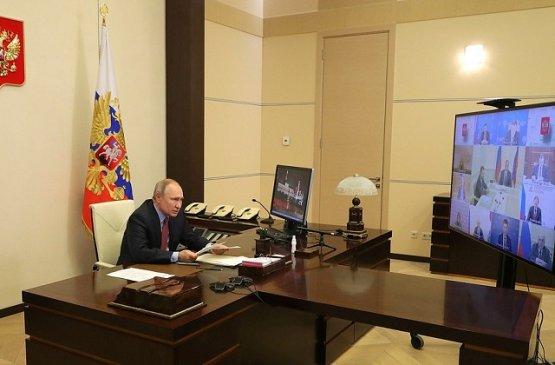 Путин провёл совещание по экономическим вопросам