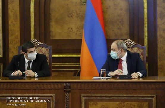Состоялось заседание Совета безопасности под председательством премьера Армении и главы Арцаха