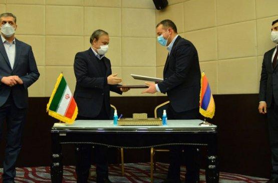 Ереван и Тегеран подписали меморандум о сотрудничестве в экономической сфере