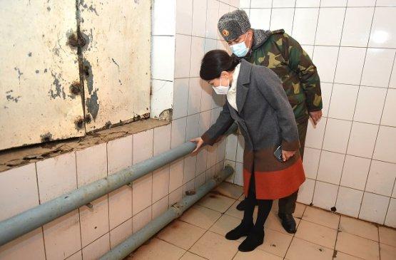 И.о. заместителя главы правительства Киргизии раскритиковала условия содержания в СИЗО Бишкека