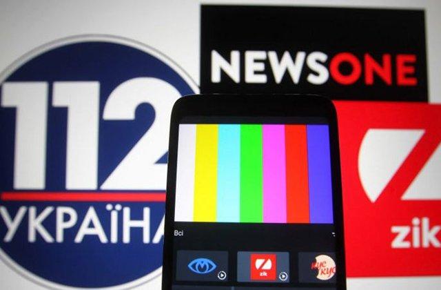 Международная федерация журналистов осудила Украину за блокировку телеканалов