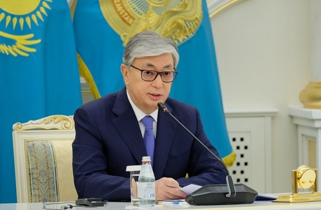 Президент Казахстана ознакомился с деятельностью финансового рынка страны