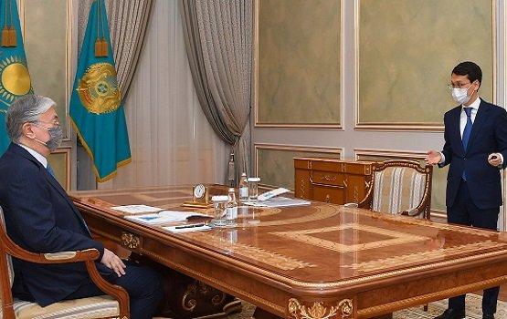 Министр Багдат Мусин отчитался перед Токаевым по проекту «Цифровой Казахстан»