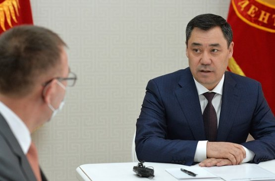 Лидер Киргизии обсудил с главой Нацбанка первоочередные планы сектора