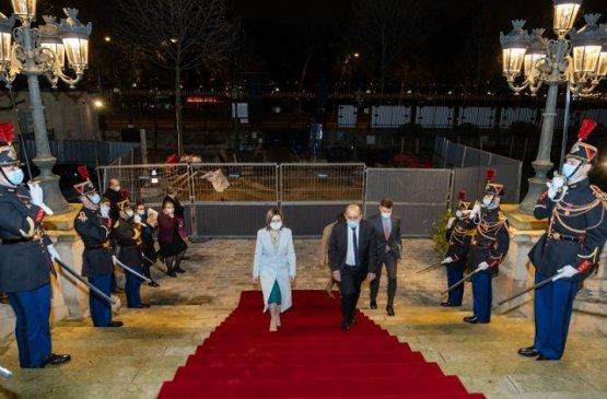 Лидер Молдовы в Париже обсудила с главой МИД Франции вопросы партнёрства