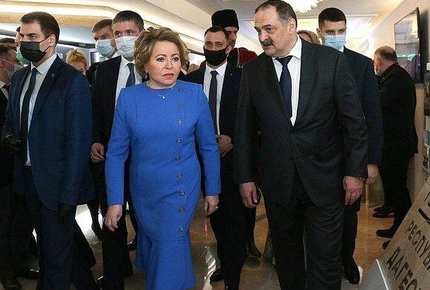 Развитие Дагестана стало темой обсуждения в Совете Федерации РФ