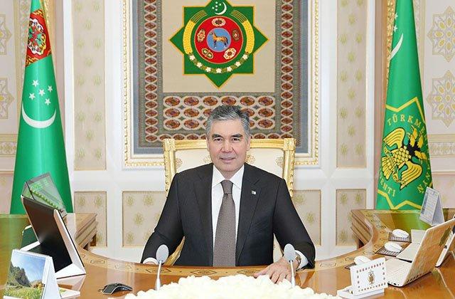 Президент Туркменистана обсудил с Игорем Макаровым подготовку к ЧМ-2021 по велотреку