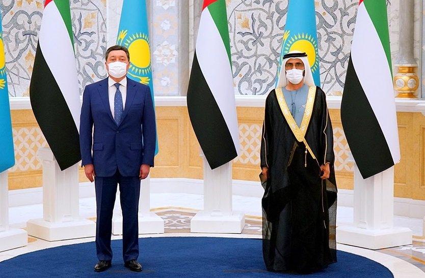 ОАЭ намерены инвестировать в экономику Казахстана 2 миллиарда долларов