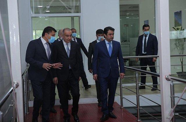 Мэр Ташкента прибыл в столицу Таджикистана