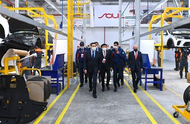 В Казахстане запущен совместный авто-конвейер с «KIA Motors»