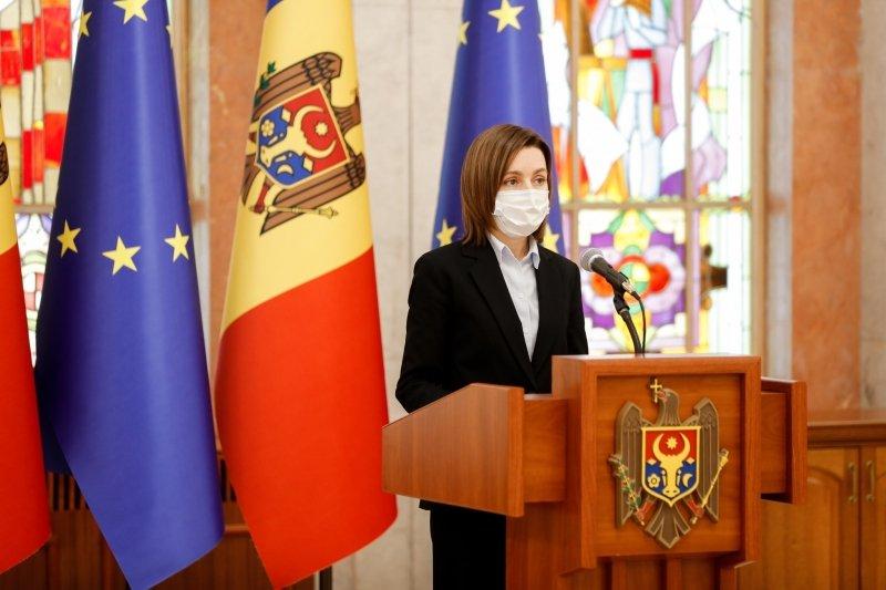 Санду обратится в Конституционный суд Молдовы ради роспуска парламента