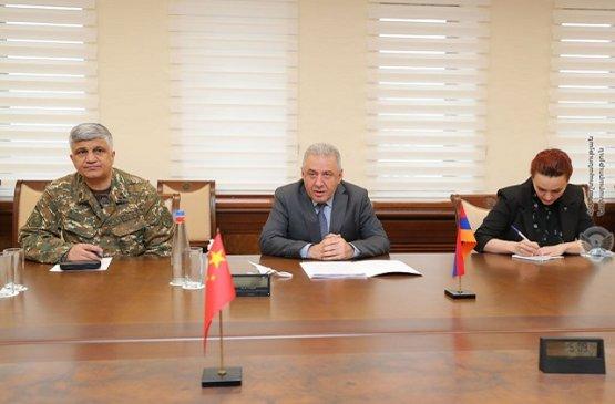 Армения и Китай обсудили развитие сотрудничества в различных сферах