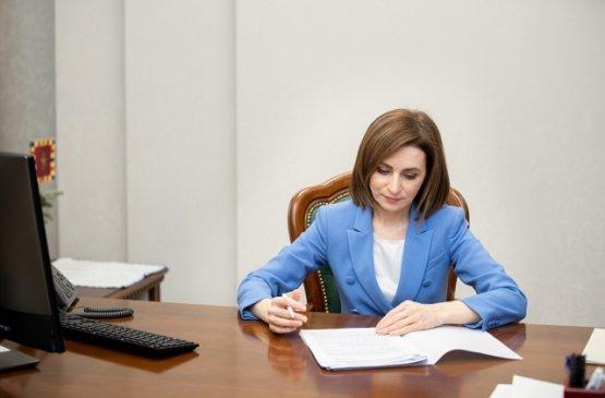 Молдавский лидер направила кабмину план действий для поддержки предпринимателей