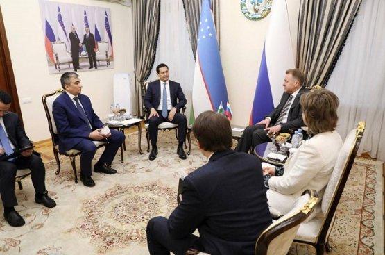 Российская корпорация «ВЭБ.РФ» будет инвестировать в новые проекты Узбекистана