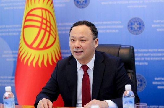 Глава МИД Киргизии обсудил результаты антикризисных мер ведомства за прошлый и текущий год
