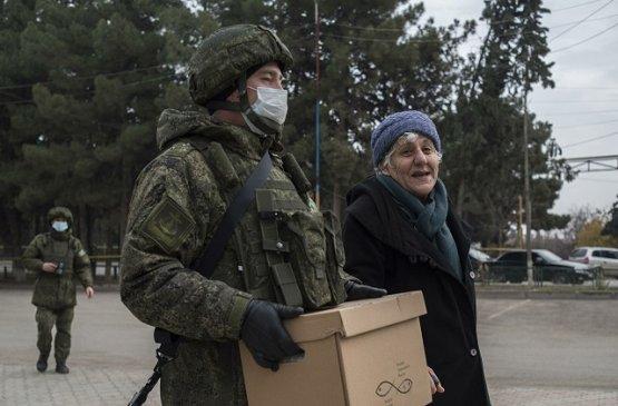 Российские миротворцы оказали помощь посёлку Норагюх в Карабахе