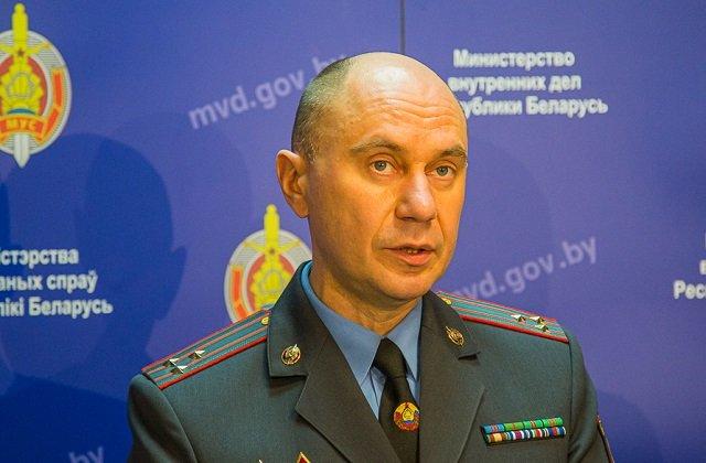 Замглавы МВД Белоруссии назвал имена участников враждебной инициативы «BYPOL»