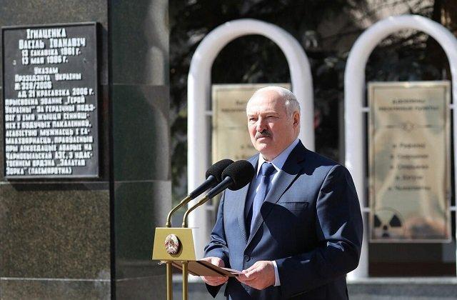 Глава Белоруссии в Брагине почтил память жертв Чернобыльской трагедии