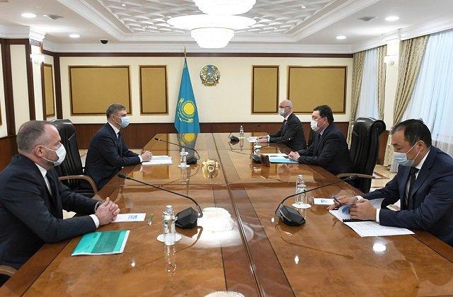 Шеф кабмина Казахстана обсудил с главой ОАО «РЖД» логистику Евразийского железнодорожного альянса