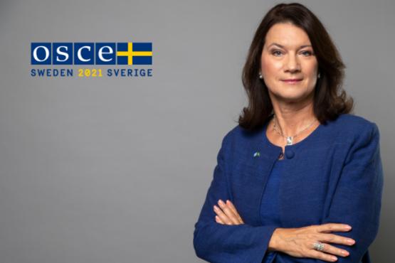 Министр иностранных дел Швеции - глава ОБСЕ встретится с президентом Таджикистана