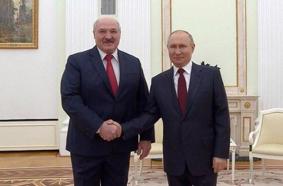 В Кремле состоялись переговоры Лукашенко и Путина