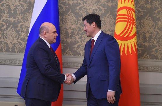 Главы правительств Кыргызстана и России обсудили вопросы дальнейшего двустороннего сотрудничества