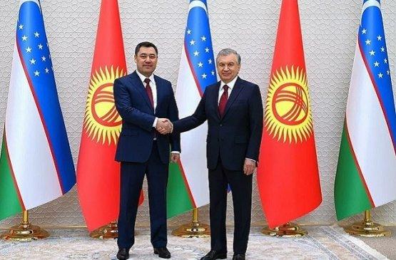 Главы Киргизии и Узбекистана обсудили вопросы регионального сотрудничества между странами