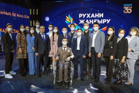 Президент Казахстан принял участие во встрече с призёрами проекта